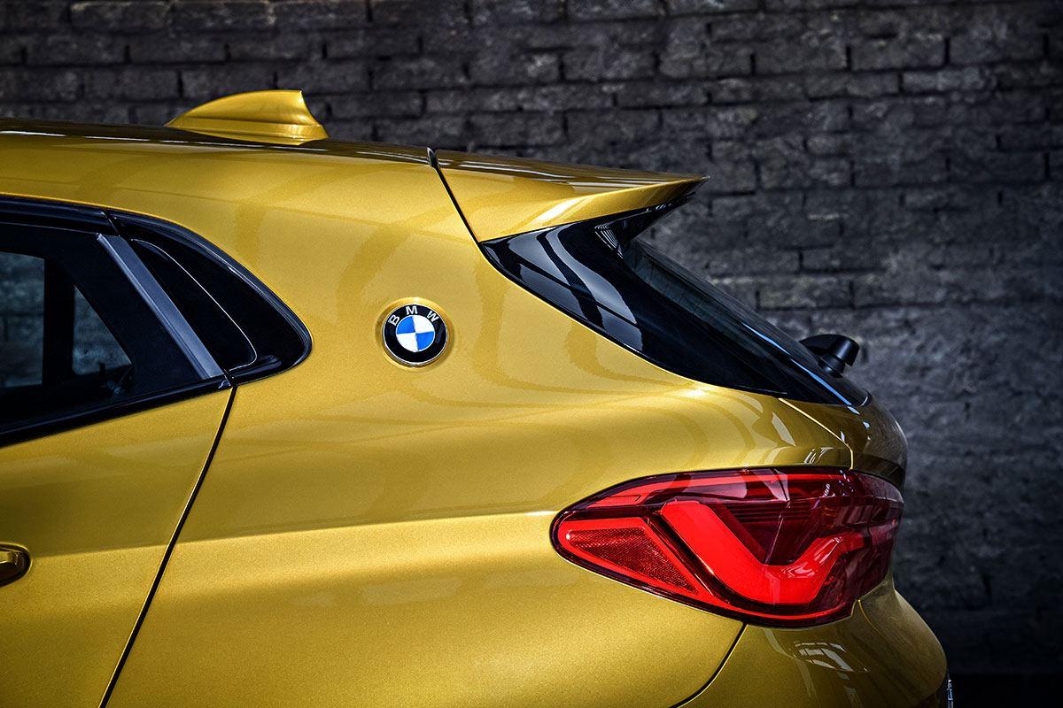 Details des Hecks BMW X2