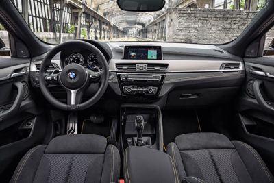 Innenraum des BMW X2