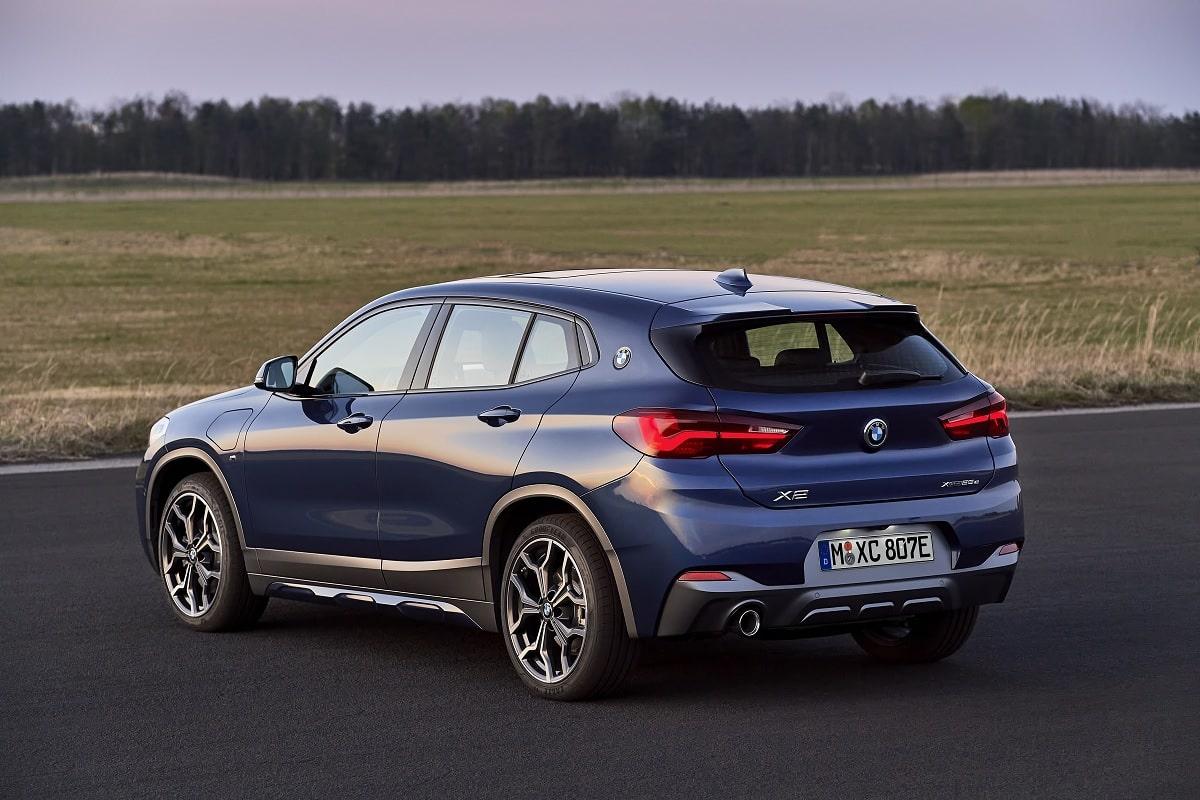 BMW X2 xDrive25e Hybrid - Heckansicht