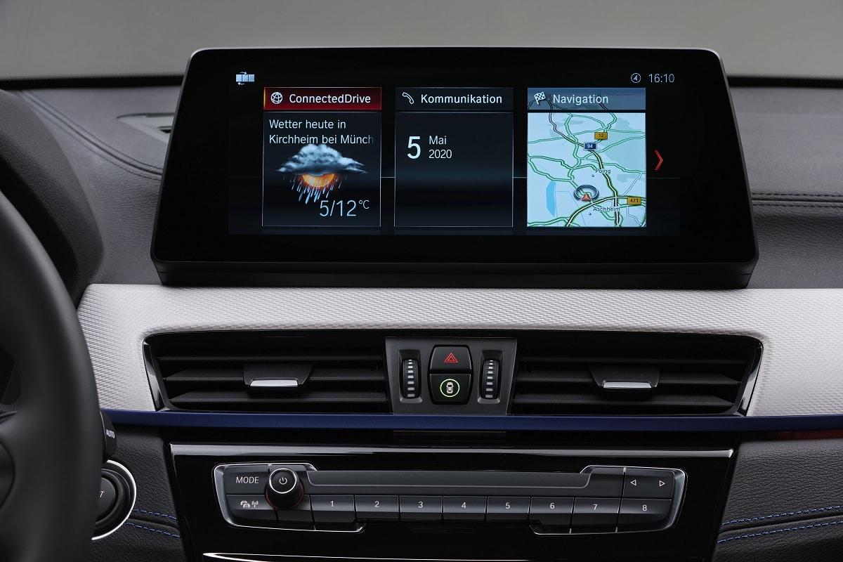 BMW X2 xDrive25e Hybrid - Navigation