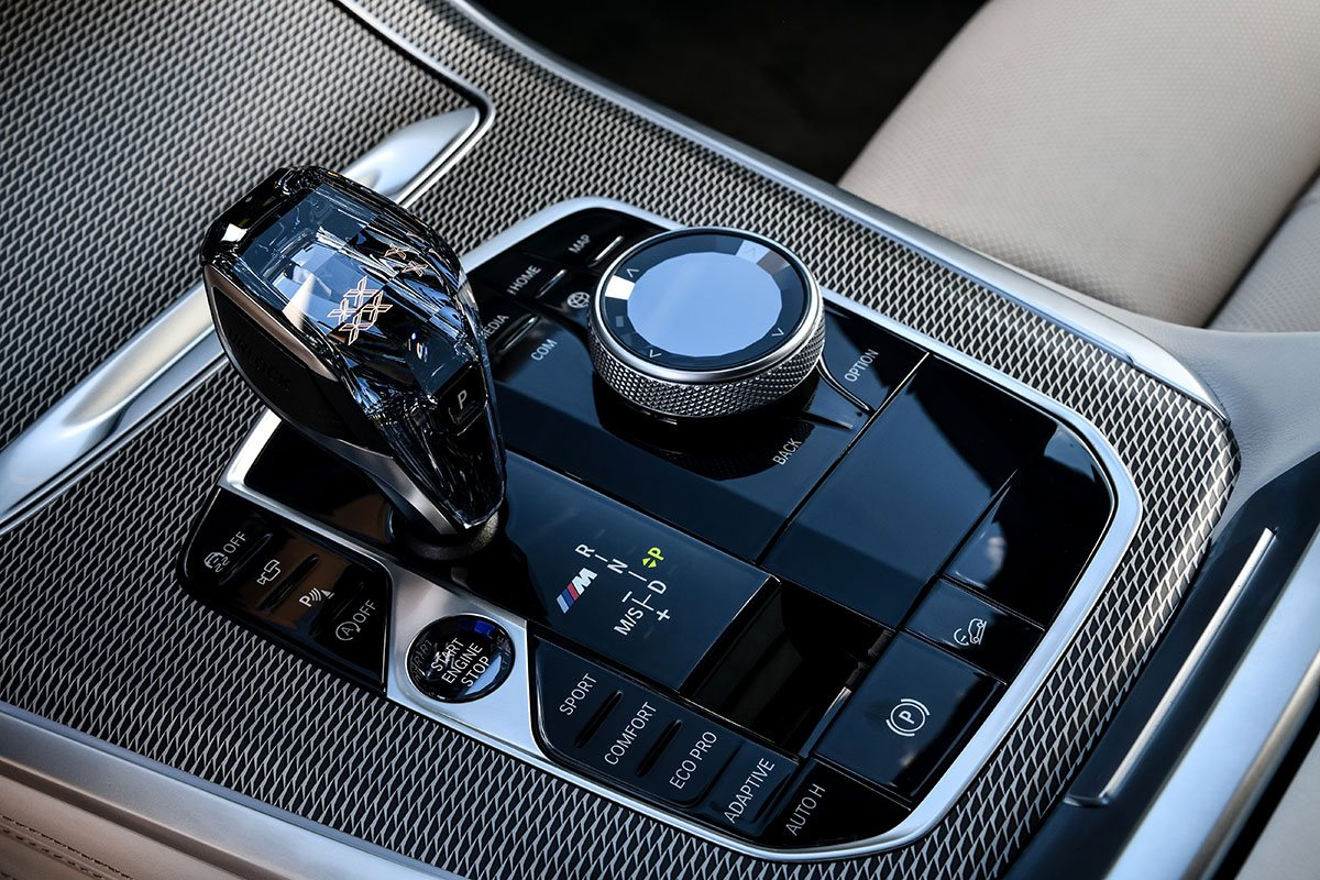 Bedienelemente im BMW X5