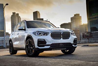 BMW X5 in weiß