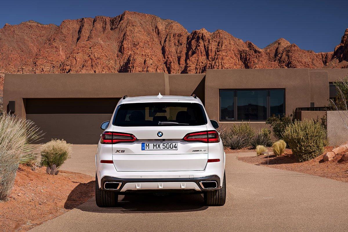 Heckansicht des BMW X5