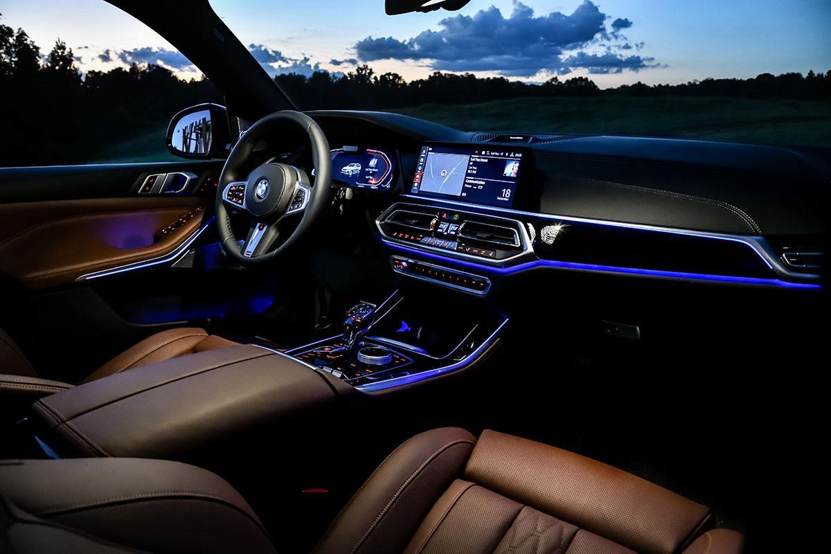 Ambientebeleuchtung im BMW X5