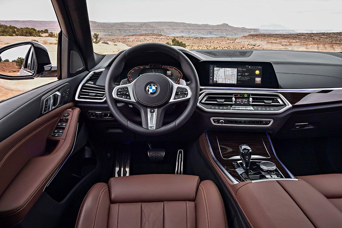 Innenraum des BMW X5