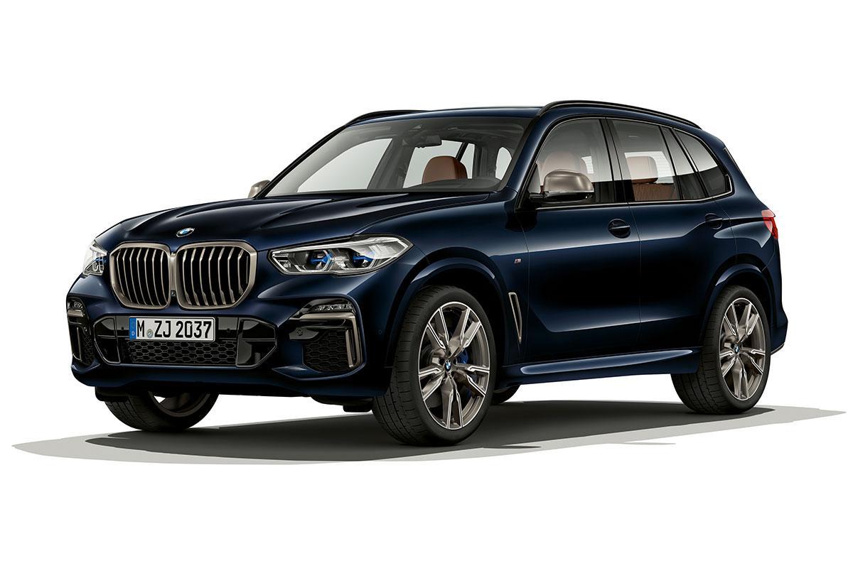 BMW X5 M50i dunkelblau