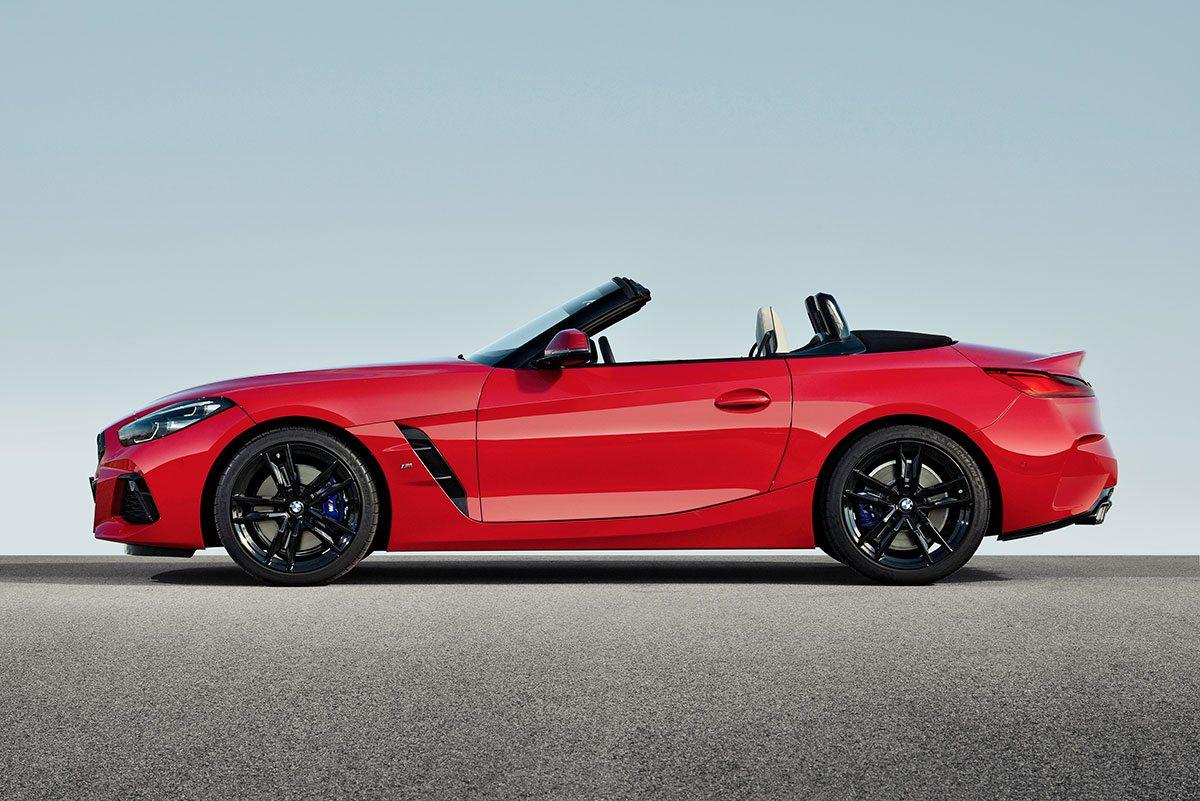 Seitenansicht BMW Z4