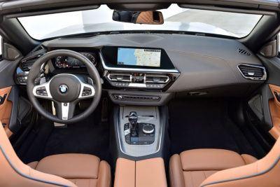 Innenraum des BMW Z4