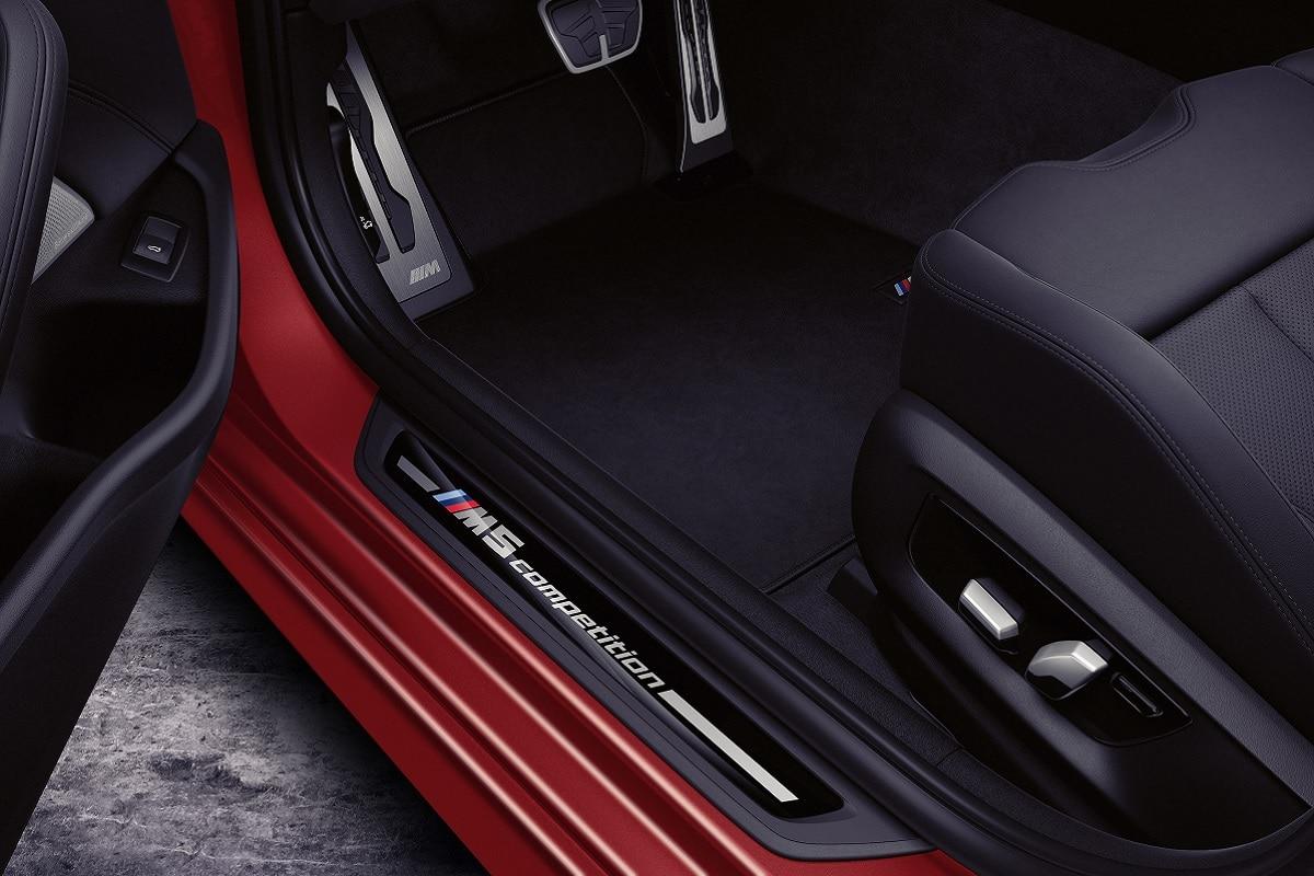 Einstiegsleisten des BMW M5 Competition