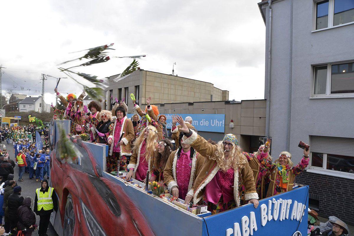 Karneval bei Faba