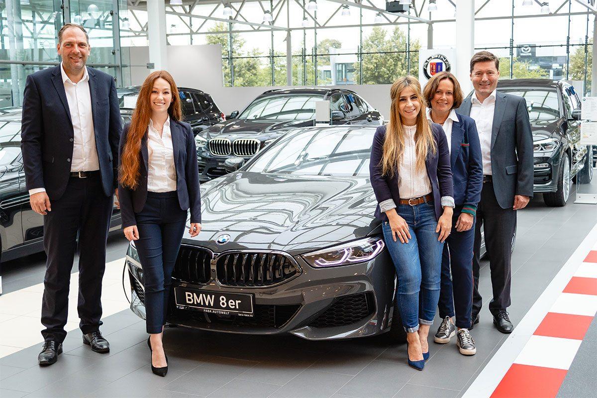 Faba Team Verkauf Großkunden BMW