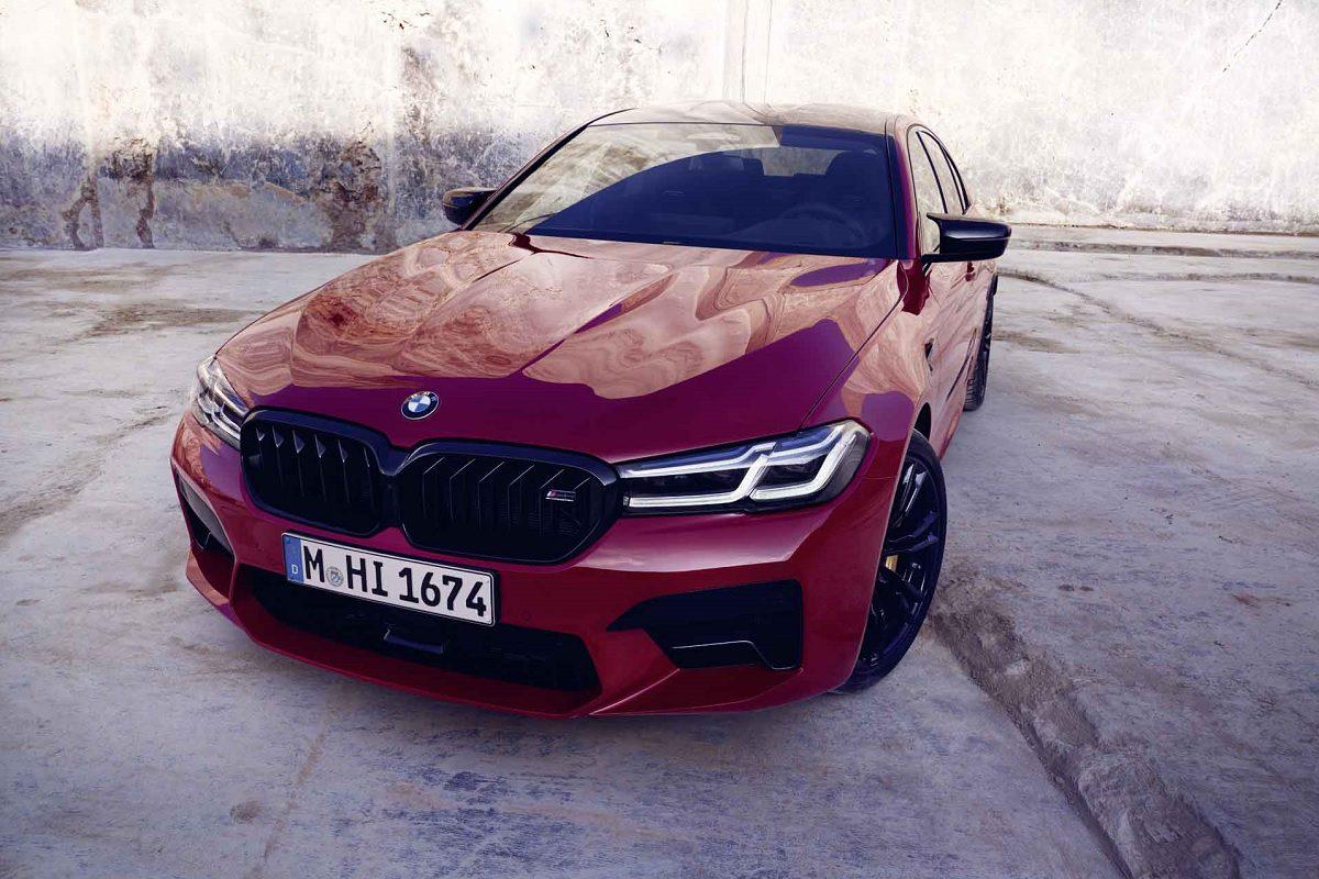 Front des BMW M5 Competition