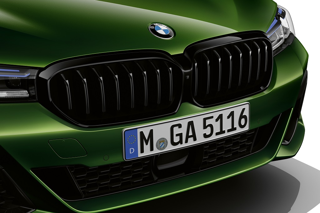 Front-Details - BMW M550 Limousine