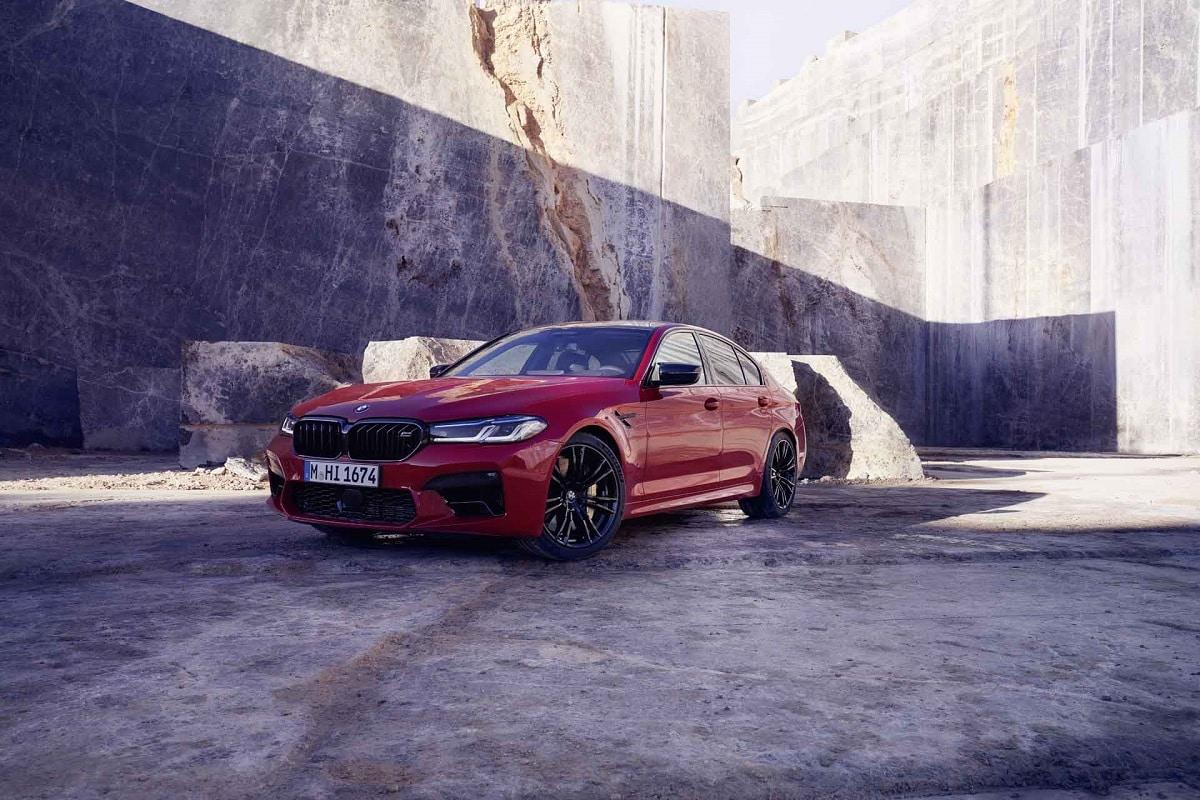 Frontansicht des BMW M5 Competition