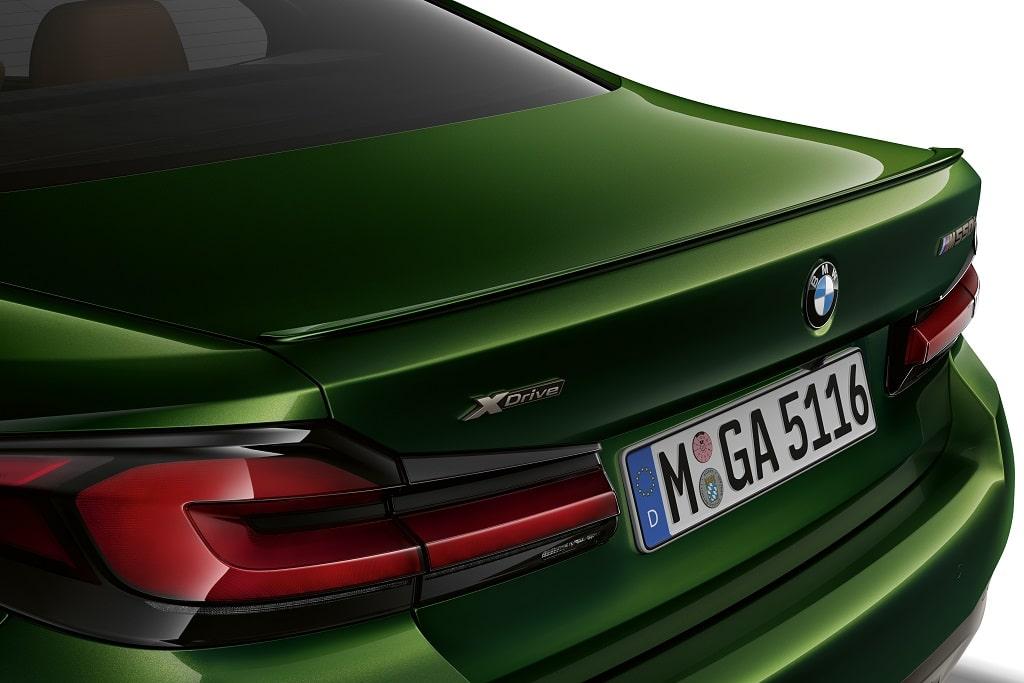 Heck-Details - BMW M550 Limousine