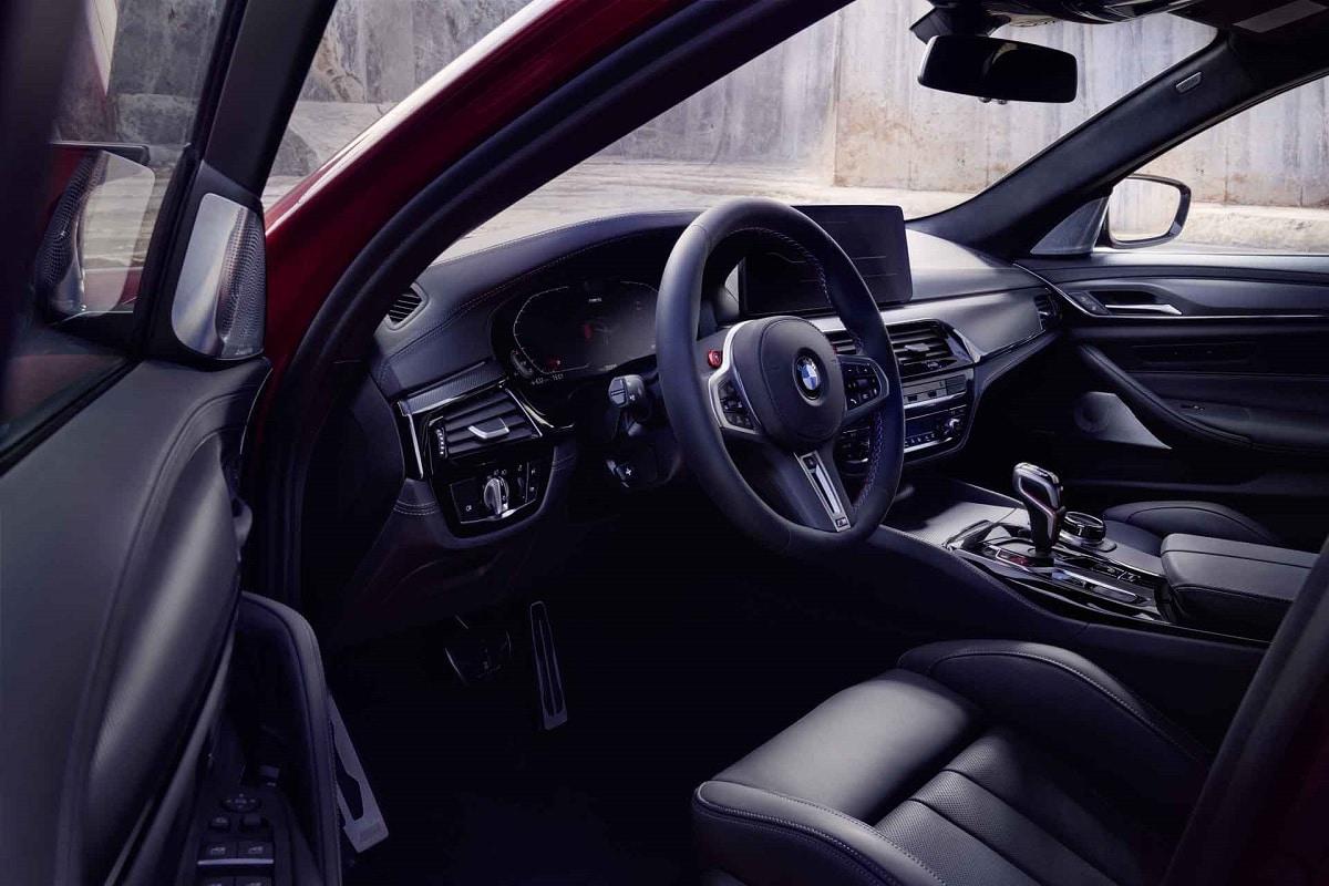 Interior des BMW M5 Competition
