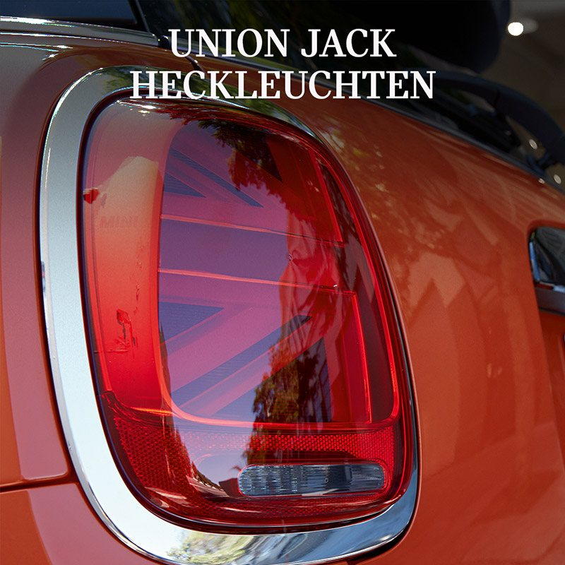 MINI Chili Paket: Union Jack Heckleuchten