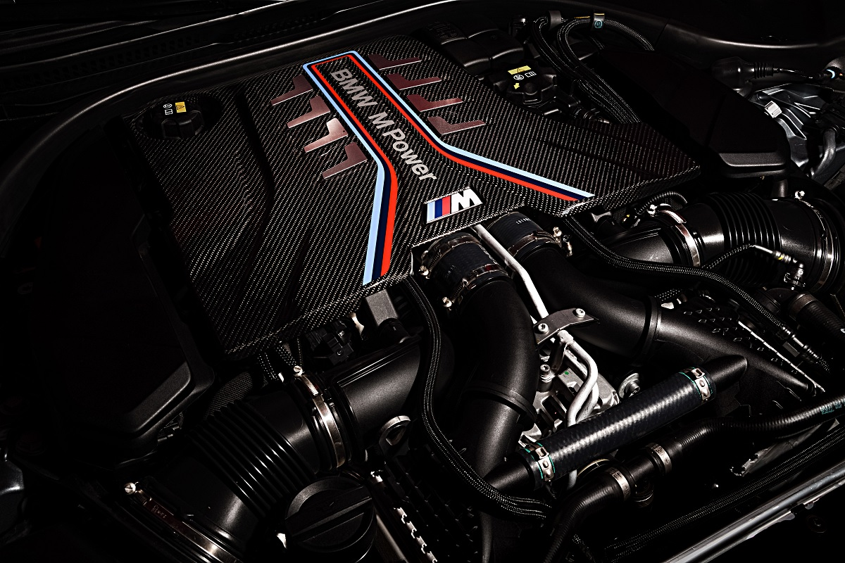 Motor des BMW M5 Competition