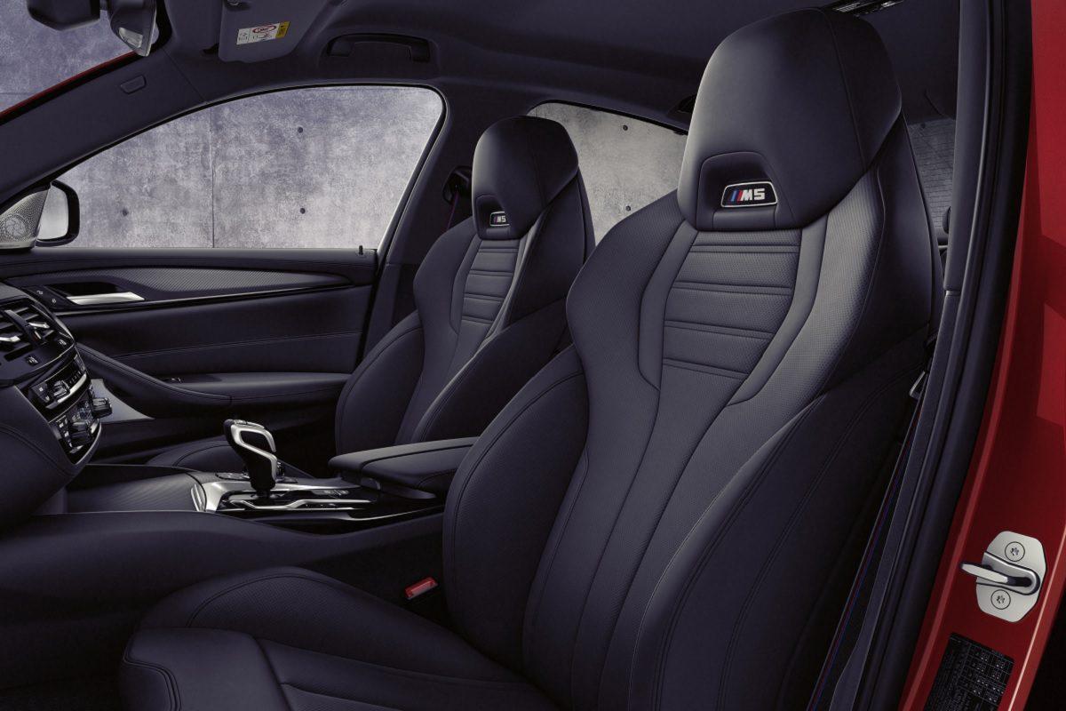 Sitze des BMW M5 Competition