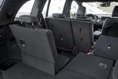 Umklappbare Rücksitzbänke im BMW 2er Gran Tourer